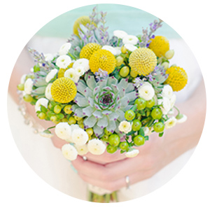wedding photography, wedding bouquet, yellow, succulents, sheffield, bride
